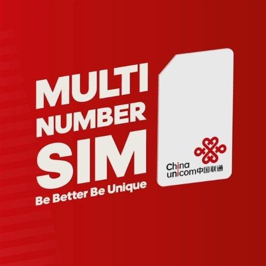 China Unicom Multi Number Sim – International Campaign