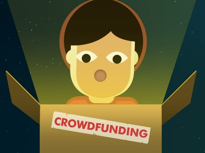 What is Crowdfunding? Reward, equity and donation crowdfunding.