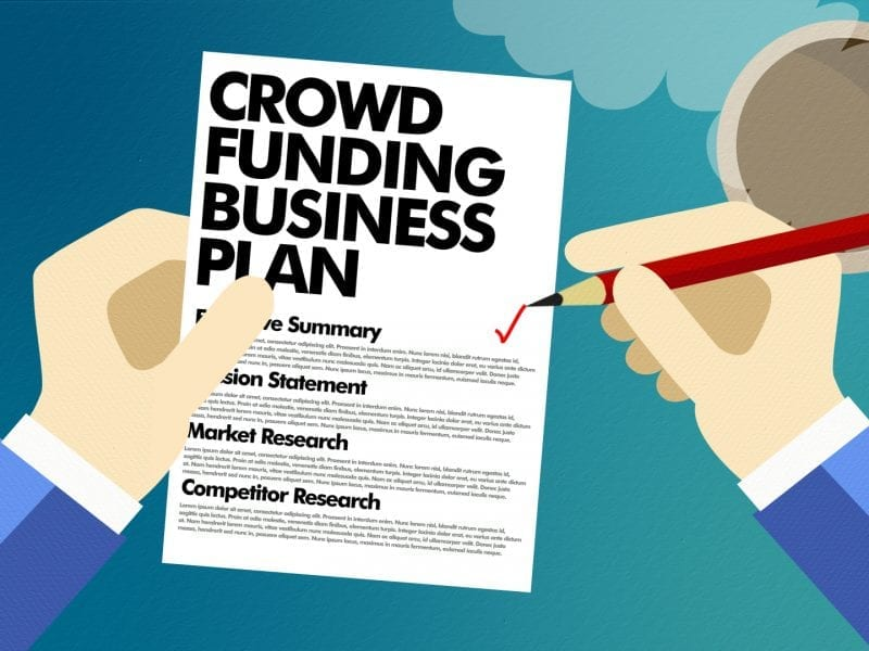 Startup crowdfunding – Why You Need A Business Plan.
