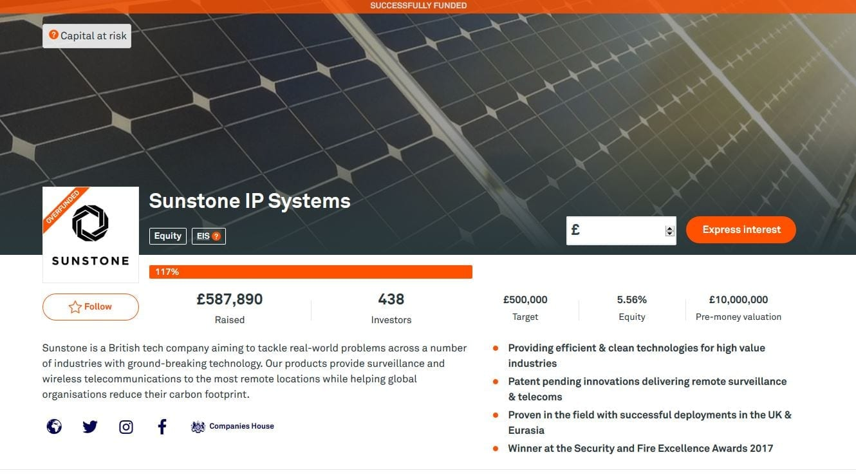 Sunstone Crowdfunding Campaign