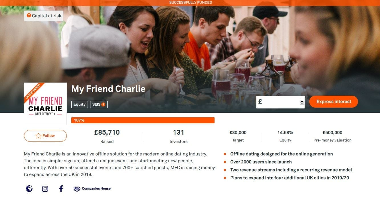 My Friend Charlie Crowdfunding Campaign on Crowdcube #3