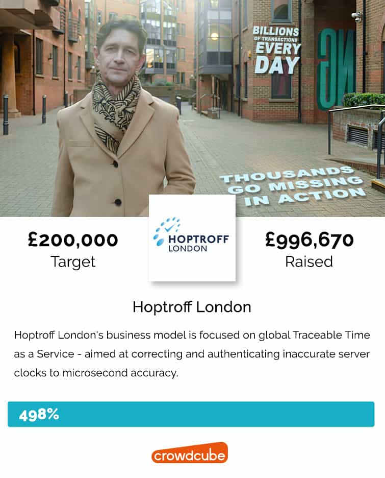 Hoptroff crowdfunding campaign