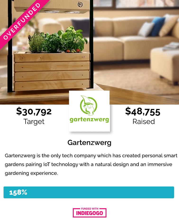 Gartenzwerg Indiegogo crowdfunding campaign