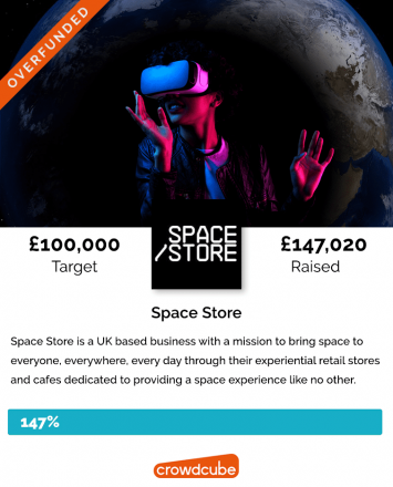 Space Store Crowdfunding Campaign