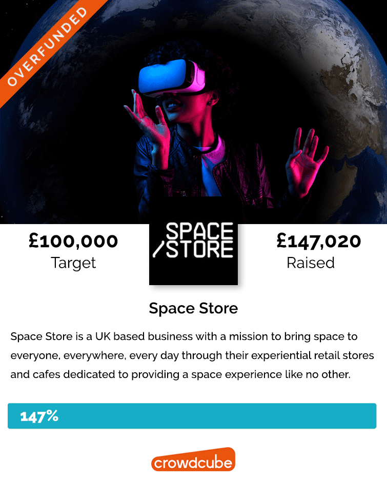 Space Store Overfunded
