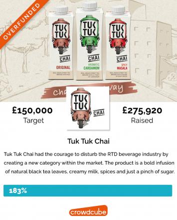 Tuk Tuk Chai Crowdfunding Campaign