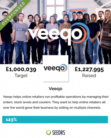 Veeqo Crowdfunding Campaign
