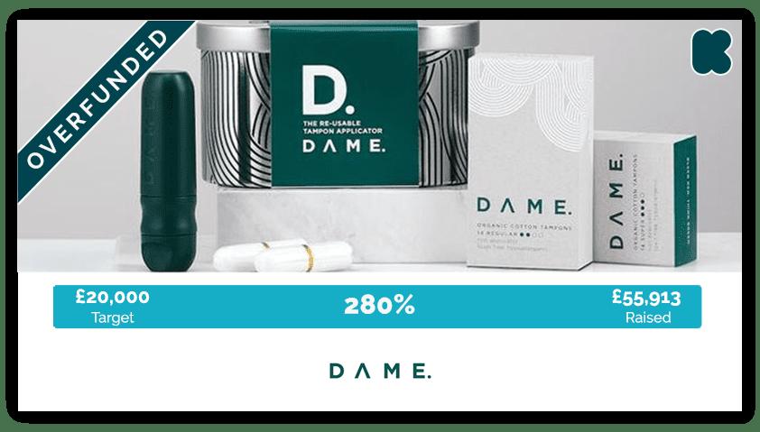 Dame crowdfunding