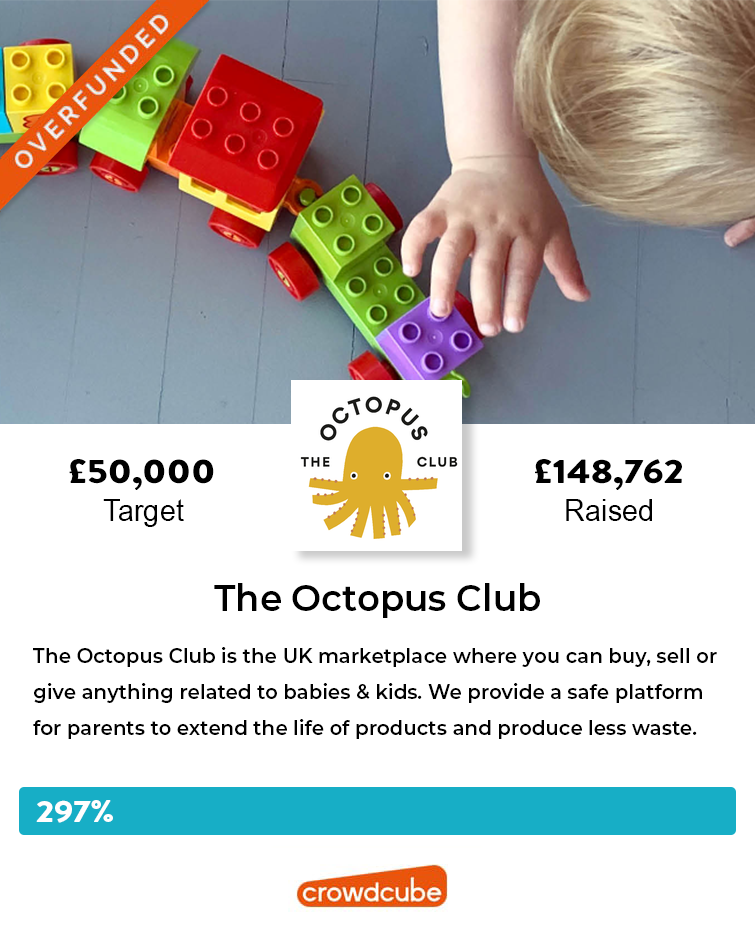 Successful crowdfunding for The Octopus Club